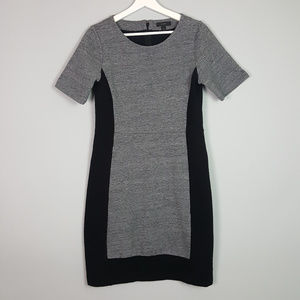 J.Crew Fitted Sheath Colorblock Dress Size 10